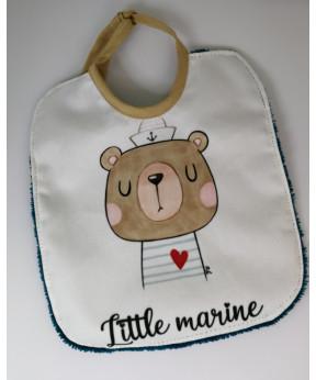 Bavoir Little Marine