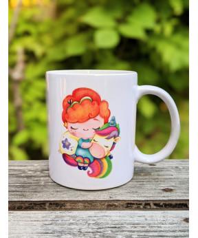 Mug «Petite fille et sa...