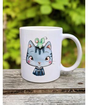 Mug «Sacha le chat»