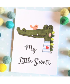 Carte postale «My little...