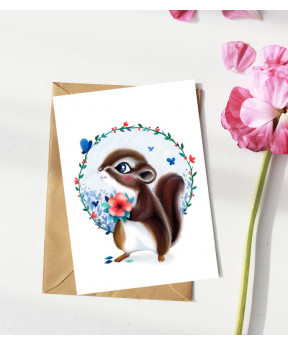 Carte postale «Tamia»