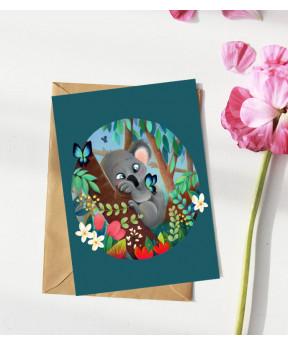 Carte postale «Koala»