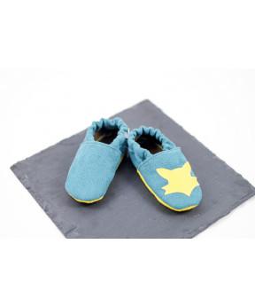 Chaussons souples bébé...