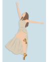 Carte postale Danseuse