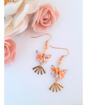 Boucles d'oreilles Papillon...