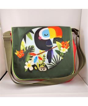 *Promo* Grande besace toucan