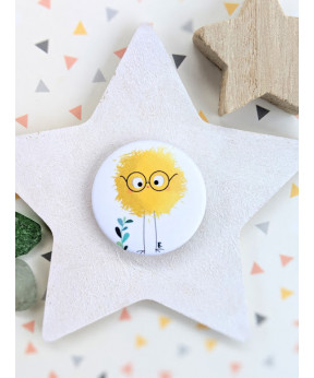 "Badge ""Piou Piou"""