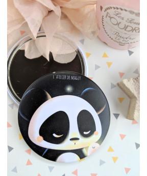 """Miroir de poche """"Panda et..."""